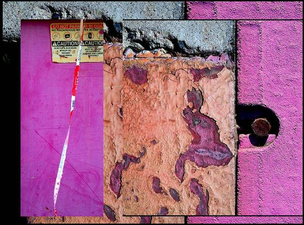 Photograph - Urban Abstracts Seeing Double 18 by Marlene Burns