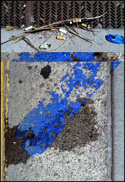 Photograph - Urban Abstracts Seeing Double 24 by Marlene Burns