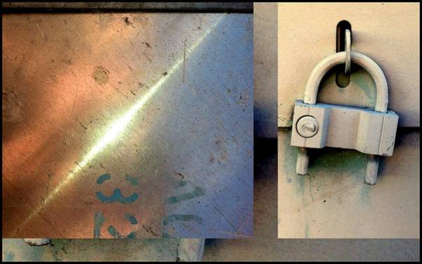 Photograph - Urban Abstracts Seeing Double 35 by Marlene Burns
