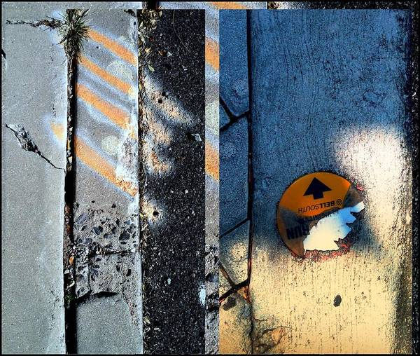 Photograph - Urban Abstracts Seeing Double 4 by Marlene Burns