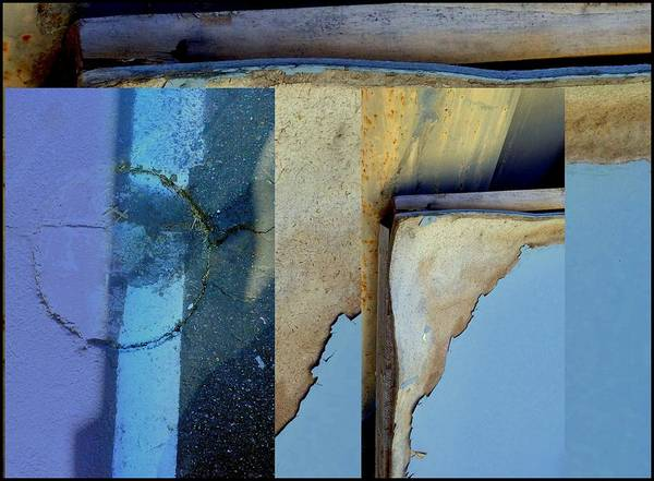 Photograph - Urban Abstracts Seeing Double 62 by Marlene Burns