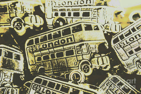 Wall Art - Photograph - Urban Bus Mural by Jorgo Photography - Wall Art Gallery
