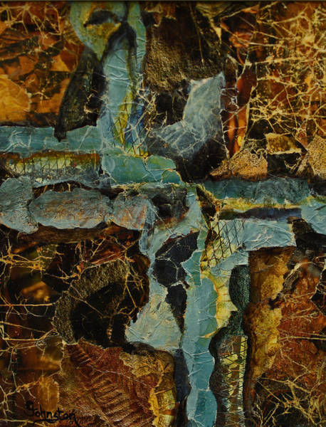Olden Mixed Media - Urban Chaos by Cindy Johnston