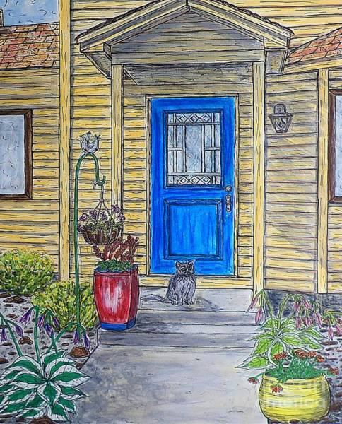 Painting - Urban Cottage  by Kim Jones