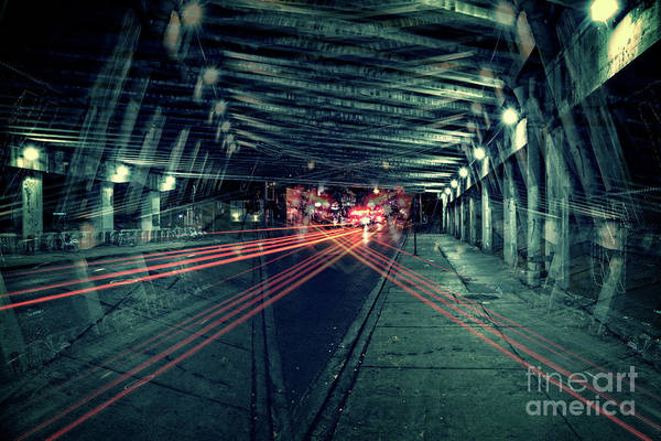 Wall Art - Photograph - Urban Crossfire by Bruno Passigatti