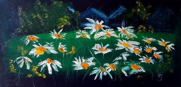 Painting - Urban Dasies        27 by Cheryl Nancy Ann Gordon
