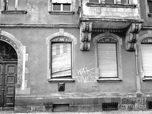Photograph - Urban Decay In Koethen by Chani Demuijlder