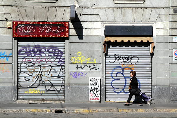 Wall Art - Photograph - Urban Desert by Valentino Visentini