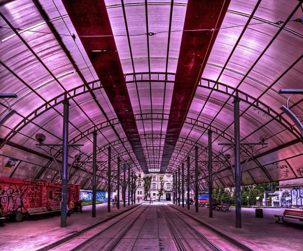 Station Wall Art - Photograph - Urban Express by Evelina Kremsdorf