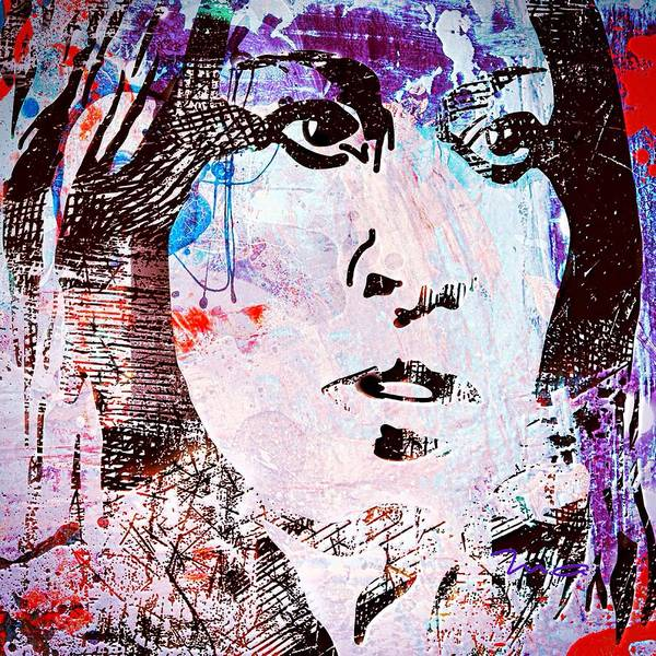 Painting - Urban Girl by Mark Taylor