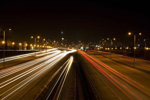 Photograph - Urban Light Patterns by Sven Brogren
