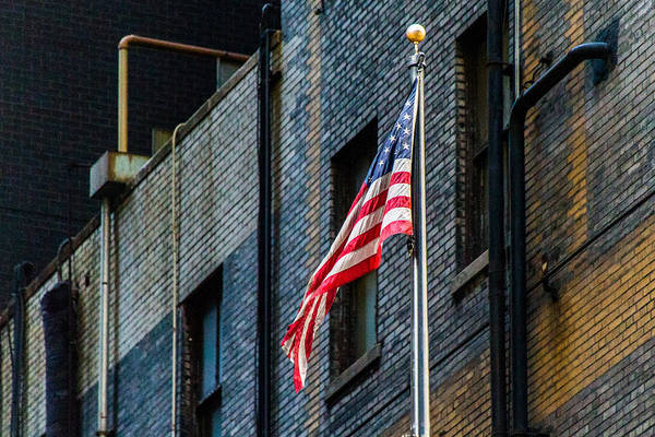 Photograph - Urban Patriotism by SR Green