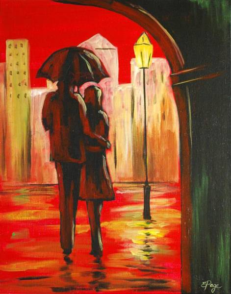 Painting - Urban Romance by Emily Page