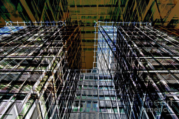 Digital Art - Urban Sound Of Berlin by Silva Wischeropp