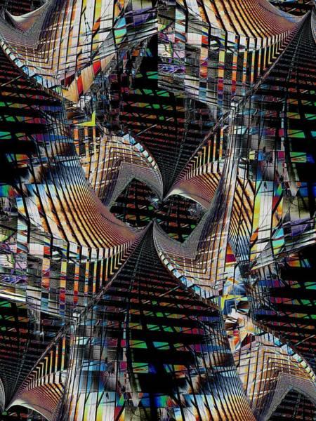 Highrise Digital Art - Urban Twist And Tango by Tim Allen
