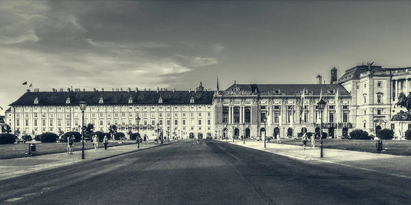 Photograph - Urban View At Hofburg Palace by Roberto Pagani