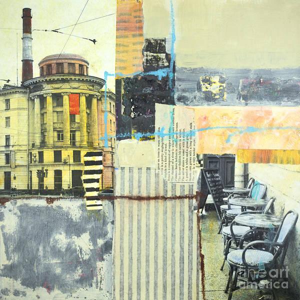 Mixed Media - Urban Walks 1 by Elena Nosyreva