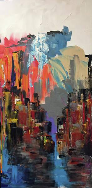 Wall Art - Painting - Urban West by Mac Worthington