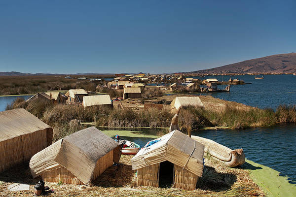 Photograph - Uros Islands, Lake Titicaca by Aivar Mikko