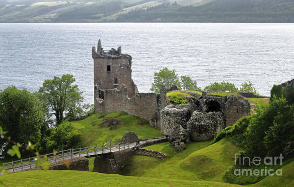 Photograph - Urquhart Castle On Loch Ness by Gregory Dyer