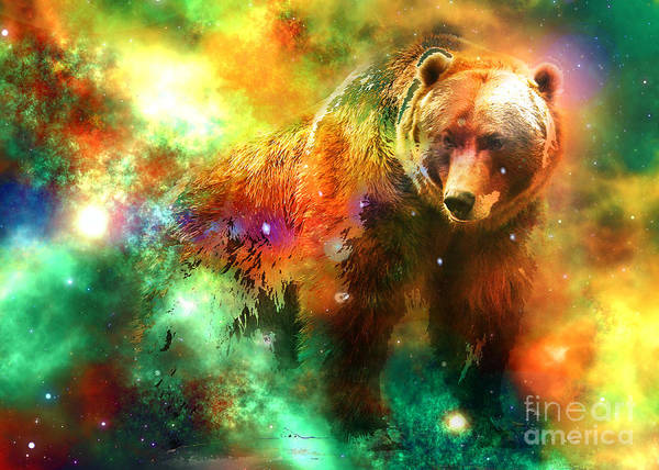 Digital Art - Ursa Major 2016 by Kathryn Strick