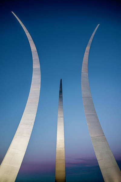 Photograph - Us Air Force Memorial by Ryan Wyckoff