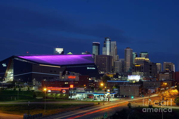 Photograph - Us Bank Stadium by Cj Mainor