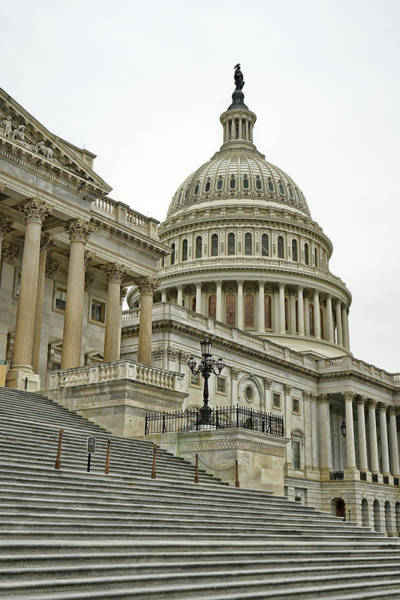 Photograph - Us Capitol Building by David Posey