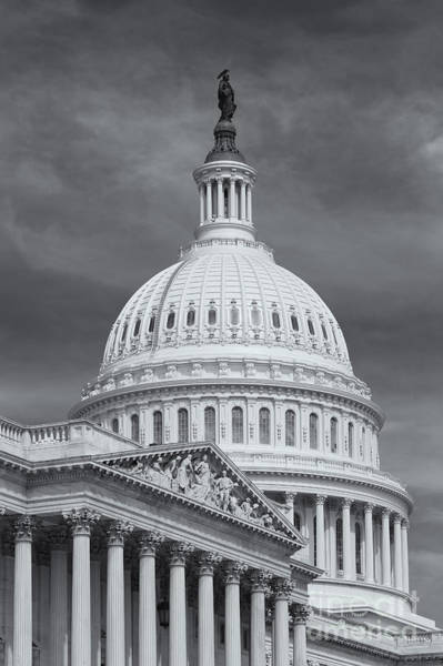 Us Capitol Building Iv Art Print