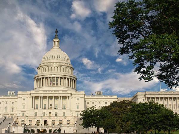 Photograph - U. S. Capitol Building - Washington D. C. by Glenn McCarthy Art and Photography