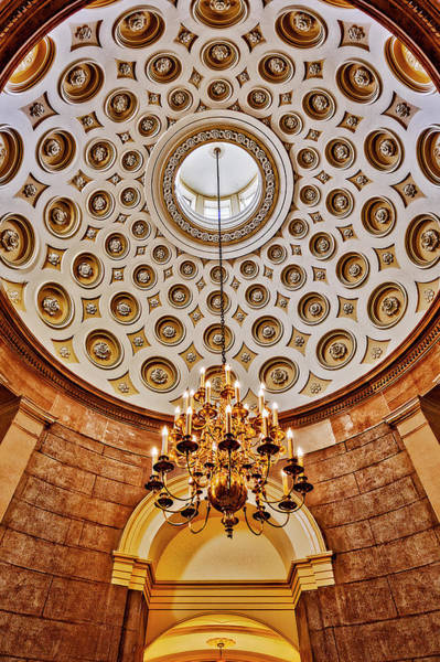 Photograph - Us Capitol Rotunda Washington Dc by Susan Candelario