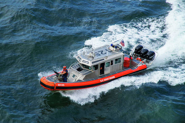 Photograph - U.s. Coast Guard Patrol by Arthur Dodd