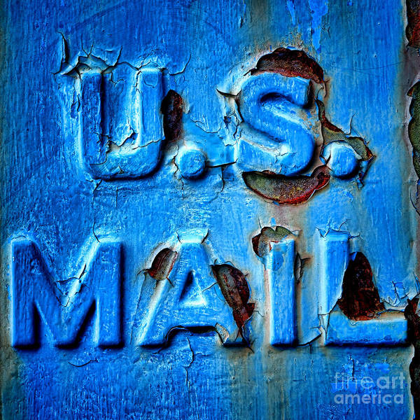 Wall Art - Photograph - Us Mail by Olivier Le Queinec