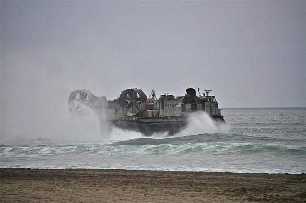Photograph - Us Navy Hovercraft by Bridgette Gomes