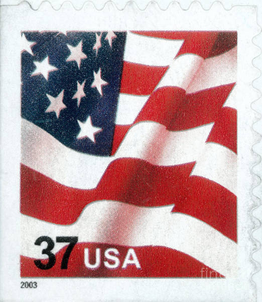 Photograph - U.s. Postage Stamp, 2003 by Granger