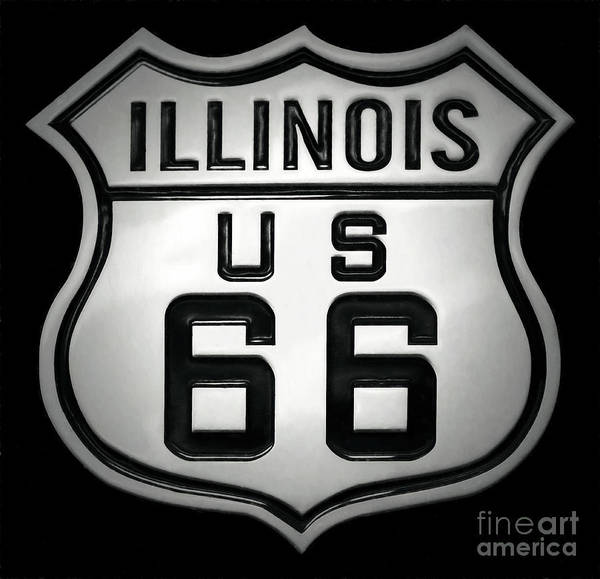 Wall Art - Photograph - U.s. Route 66 by Adrian Evans