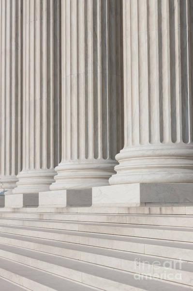 Photograph - Us Supreme Court Building II by Clarence Holmes