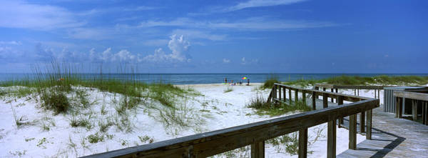 Gulf State Park Photograph - Usa, Florida, Gulf Of Mexico, St by Panoramic Images