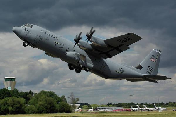 C 130 Photograph - Usaf Lockheed-martin C-130j-30 Hercules  by Tim Beach