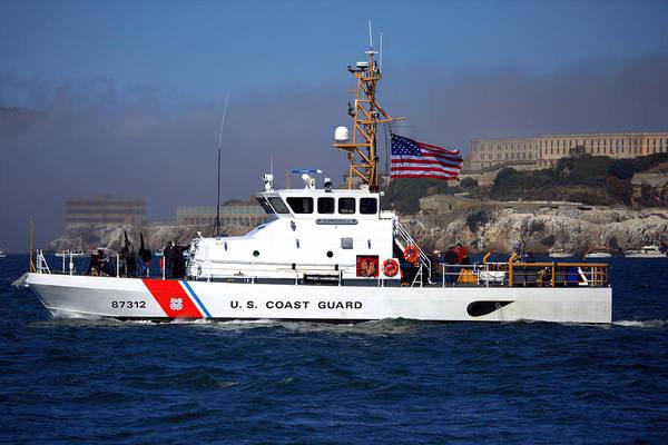 Photograph - Uscg Hawksbill Patrols San Francisco Bay During Fleet Week by John King