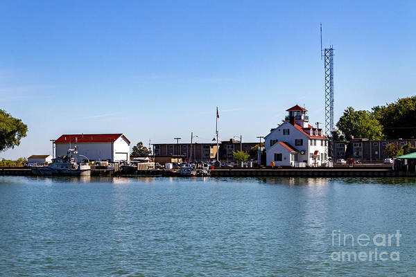 Photograph - Uscg Rochester Station by William Norton