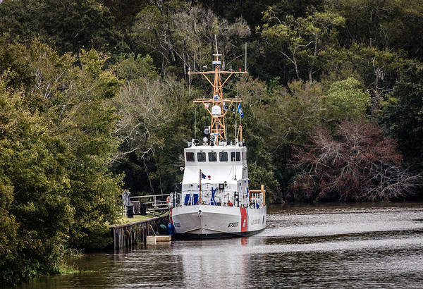 Photograph - Uscgc Pelican Moored 1 by Gregory Daley  MPSA