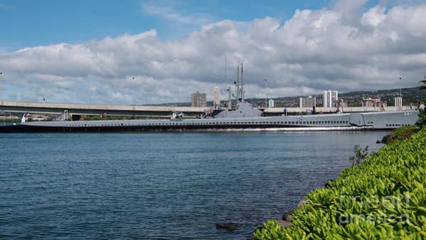 Uss Bowfin Photograph - U.s.s. Bowfin In Pearl Harbor by Ralf Broskvar
