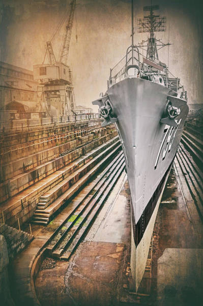 Wall Art - Photograph - Uss Cassin Young Navy Yard Boston Massachusetts by Carol Japp