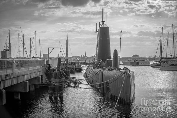 Photograph - Uss Clamagore Submarine Charleston Sc by Dale Powell