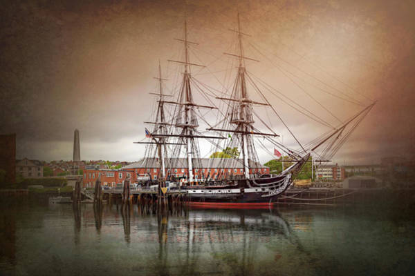 Us Marines Photograph - Uss Constitution Boston  by Carol Japp