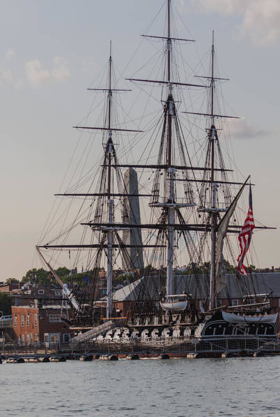 Photograph - Uss Constitution by Brian MacLean