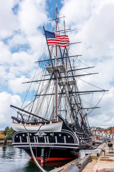 Photograph - Uss Constitution by SR Green