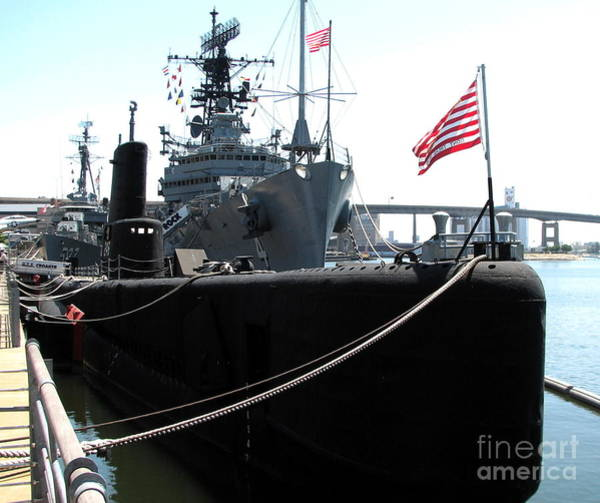 Photograph - Uss Croaker Submarine Buffalo Ny Naval And Military Park by Rose Santuci-Sofranko