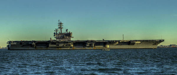 Photograph - Uss George Hw. Bush by Jerry Gammon